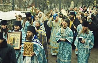 Торжества по случаю освящения храма. 19 февраля 2005 г.