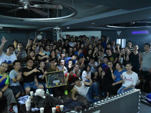 2017/8/21-六度空間Team build