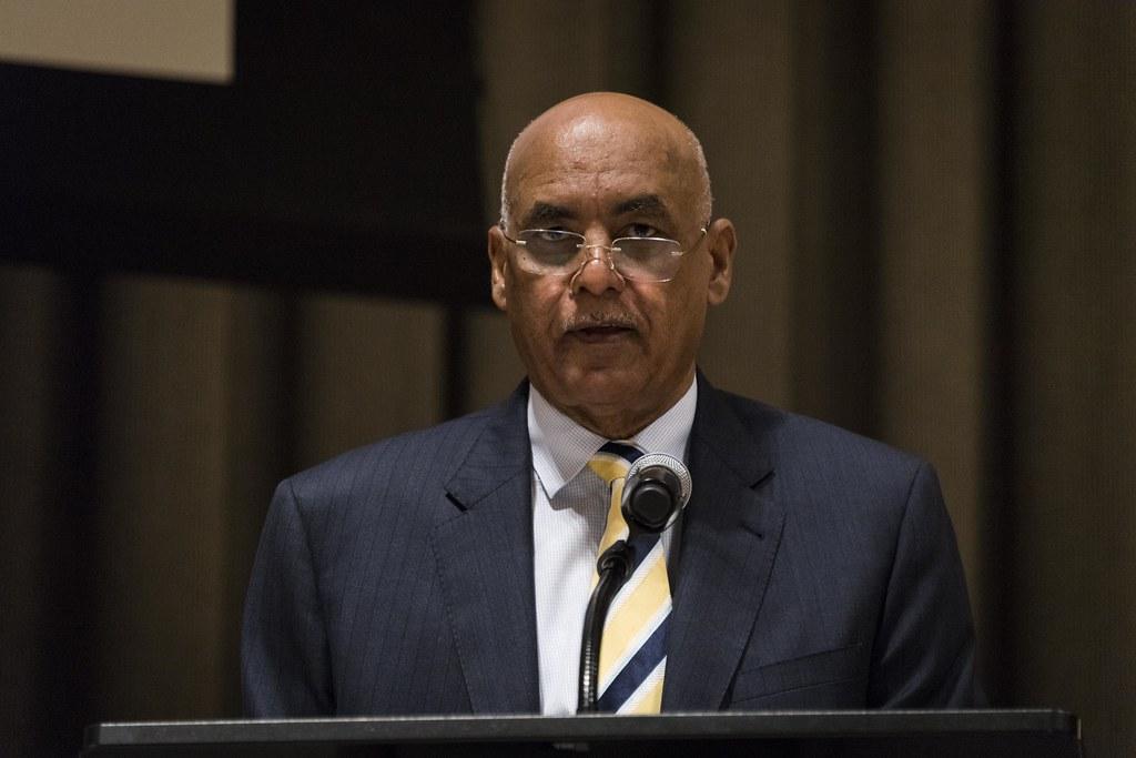 Image result for Sudan's U.N. Ambassador Omer Dahab Mohamed