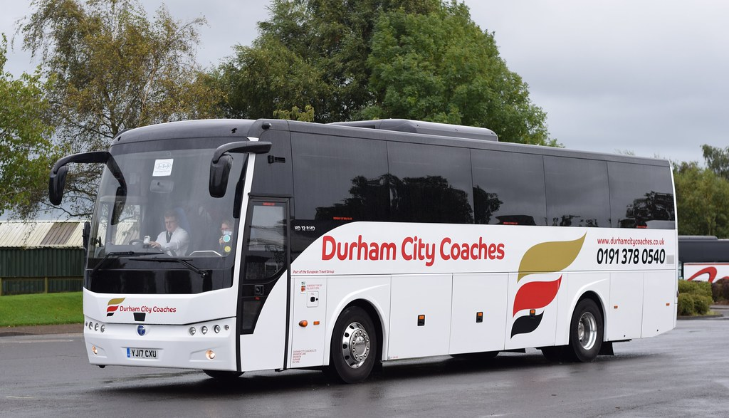Yj17cxu Durham City Coaches Gretna Green Highlandreiver Flickr