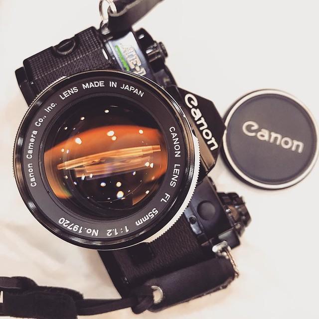 Canon FL 55mm f1.2 中上環掃街