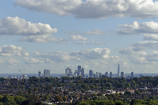 London City Skyline from Ally Pally [265/365 2017] | by _ _steven.kemp_ _