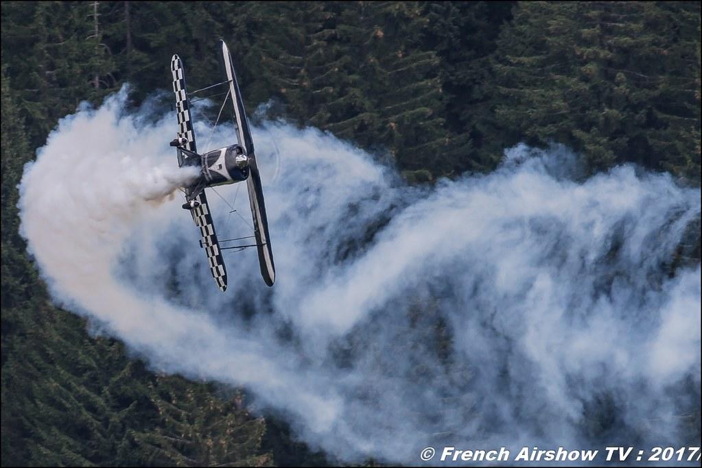 Pitts S-2B Special - F-HBOB50ans d'Aviation Megeve 2017 - altiport de Megève , Haute-Savoie, Auvergne-Rhône-Alpes , Meeting Aerien 2017