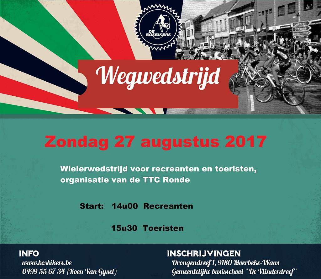 Foto's Wegwedstijd 2017