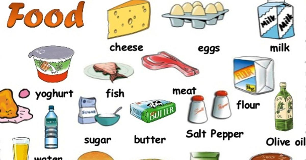 "Vocabulary: ""FOOD"" 5"