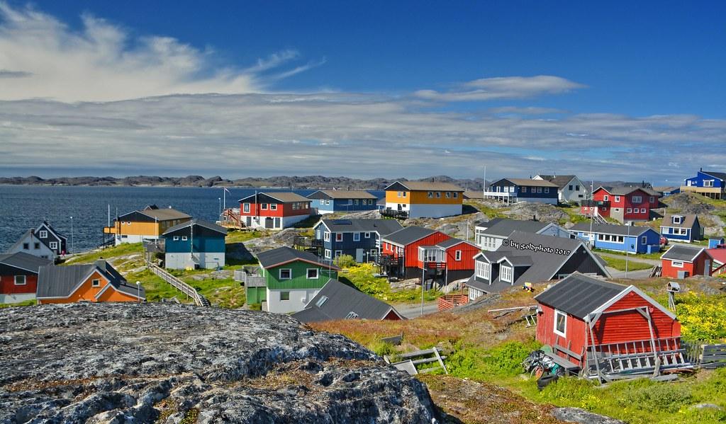 Nuuk / Grönland - Blick vom Hans Egede Denkmal   Nuuk, ist d…   Flickr