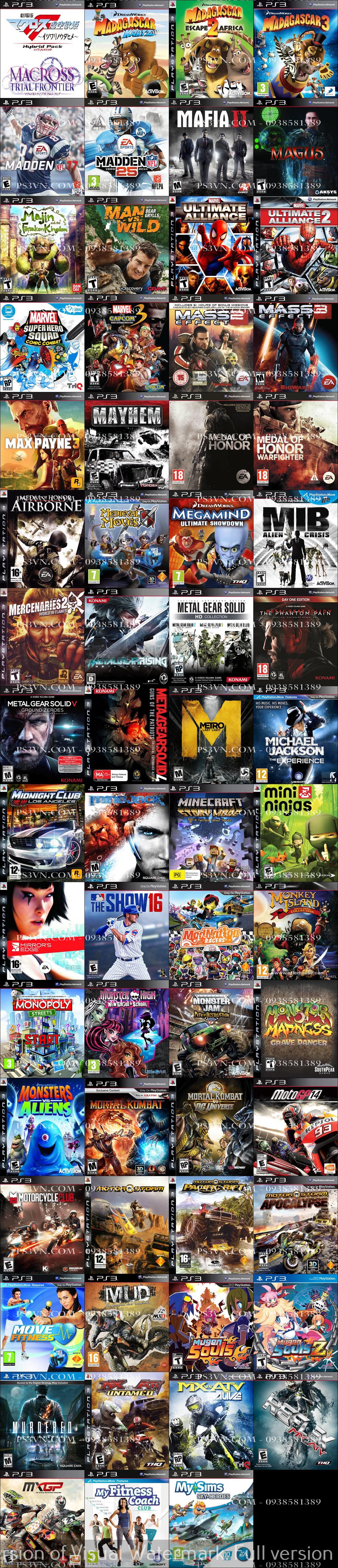 Chép Game PS3 tại nhà giá rẻ nhất TPHCM - PS3VN.COM - 27