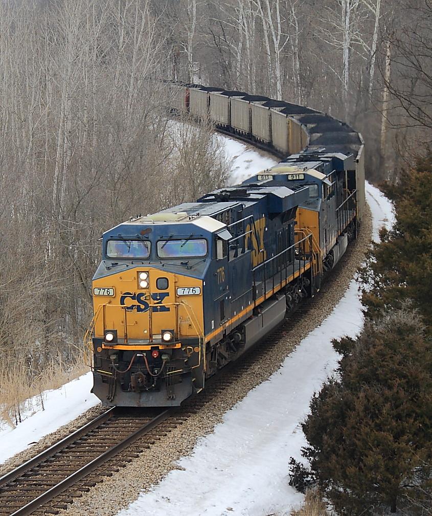 Csx 776 Ge Es44ah Hopkinsville Ky Terry Redeker Flickr