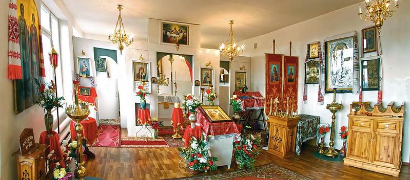Школьный храм с. Долина