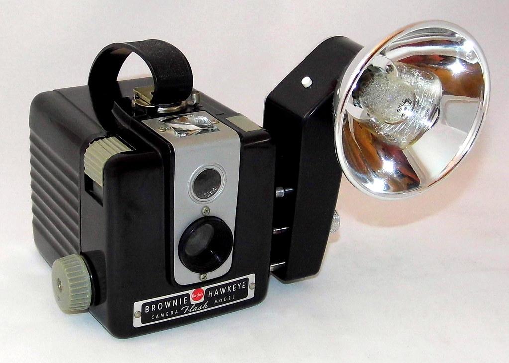 vintage kodak brownie hawkeye camera flash model with ko flickr. Black Bedroom Furniture Sets. Home Design Ideas