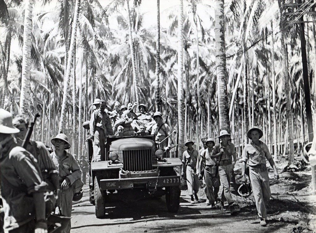 "Marines Leaving Guadalcanal, circa 1942 | ""FAREWELL TO ...