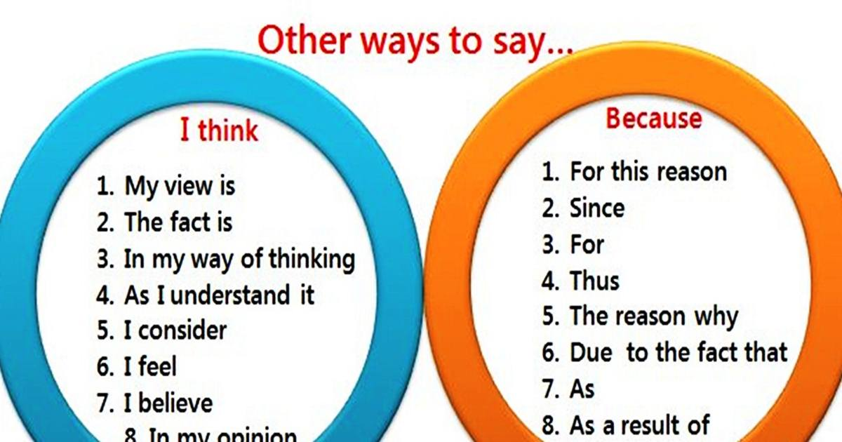Other Ways to Say … 5