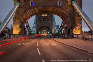 Tower Bridge Light Trails (Explored) | by Splendid What