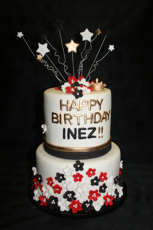 Happy Birthday Inez Aliciascupcakesandcakes