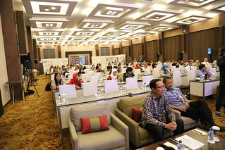 Participants listen to Prof. Taku Demura | by International Conference on Science and Technology
