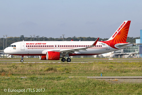 F-WWIC Airbus A320 Air India | by Eurospot 1 Million views in 1 year, Thanks