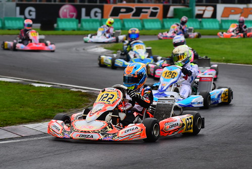 Dexter Patterson, OK-Junior, CIK-FIA Karting World Championship, PF International Kart Circuit 2017