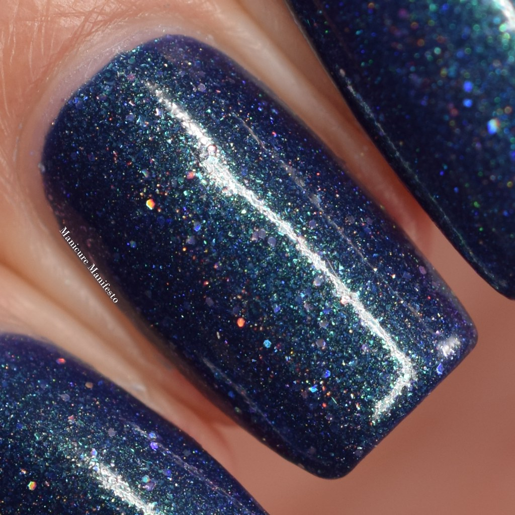 Blue Eyed Girl Lacquer Luminous Matter review