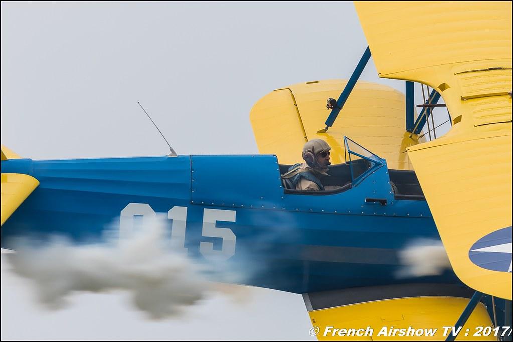 Stearman Roanne, N56178, Stearman.fr PT-17 , Heritage Wings ,JPO Aurillac 2017 , Meeting Aerien Aeroclub du cantal 2017