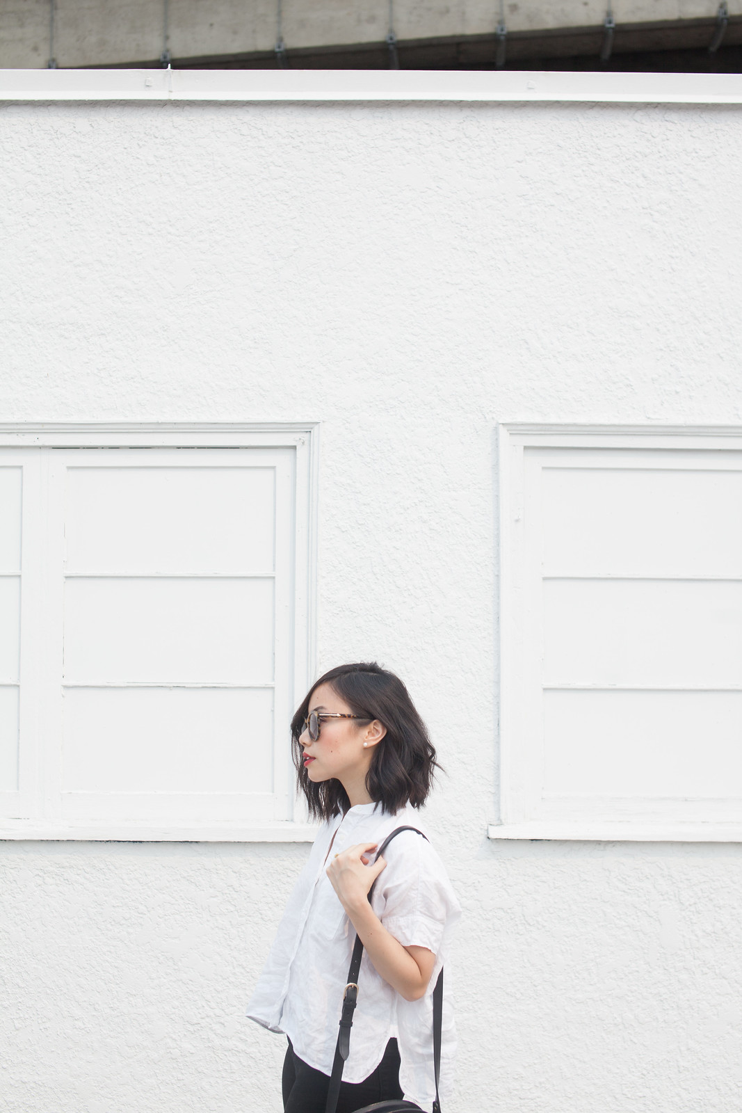 everlane shirt outfit