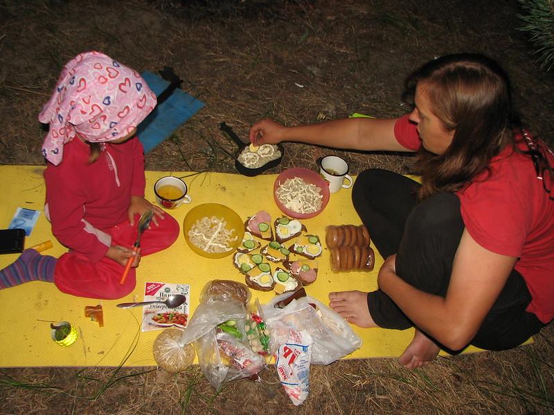 Вечеря над озером Луки