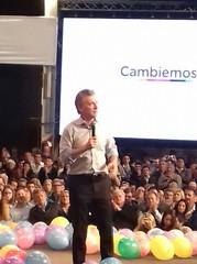 Mauricio Macri cerro la campaña en Córdoba