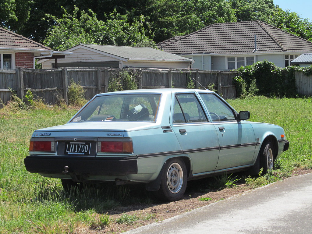 1984 Mitsubishi Tredia Gls Not Abandoned As It Might Look Flickr