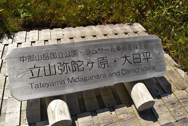 立山弥陀ヶ原・大日平(ラムサール条約登録湿原)