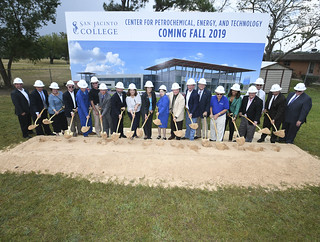Groundbreaking for Center for Petrochemical, Energy, and Technology | by San Jac College
