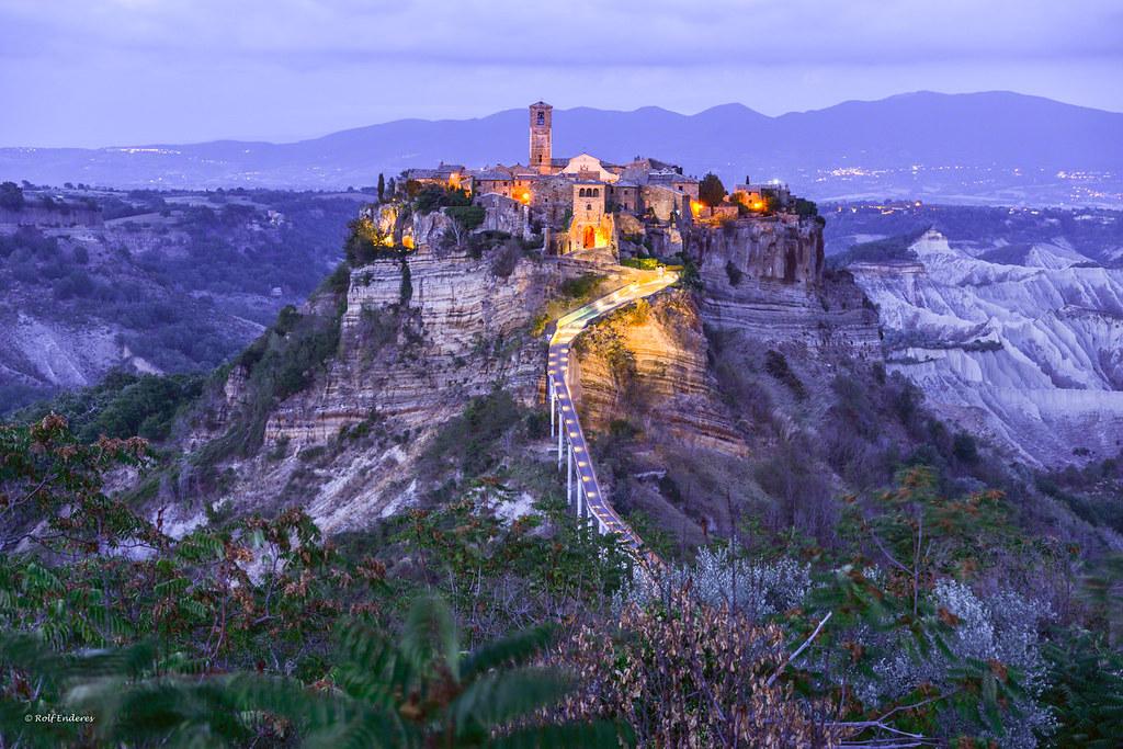 Civita di Bagnoregio | ..die sterbende Stadt Der Tuffhügel d… | Flickr