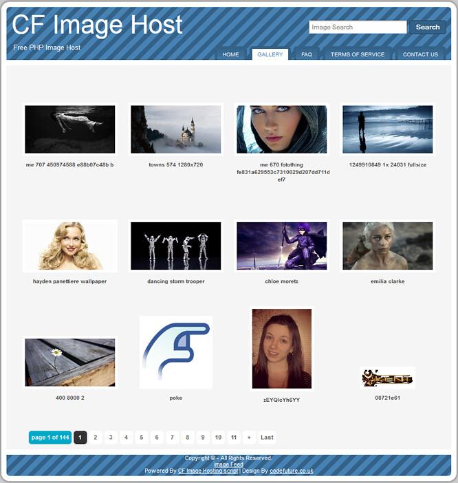 CF Image Host:老牌的图床源码