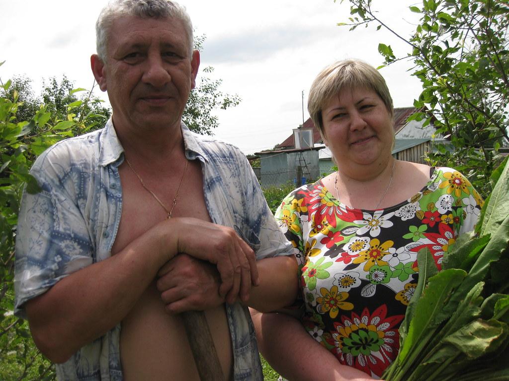 Исаев Сергей Николаевич с женой Викторией