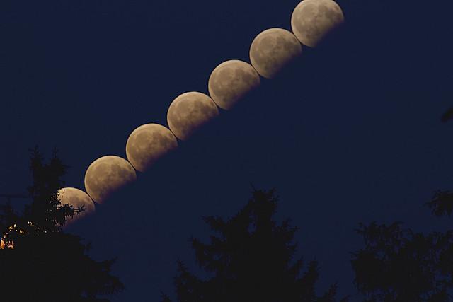 VCSE - Részleges holdfogyatkozás 2017. augusztus 7. - Kapiller Zoltán István