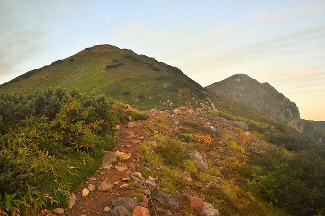 北アルプス・奥大日岳登山
