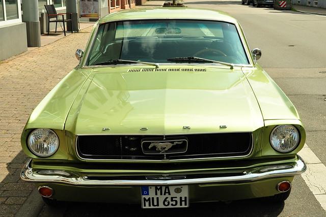 Oldtimertreffen Hirschberg-Leutershausen im August 2017 ... Foto: Brigitte Stolle ... Ford Mustang 1965
