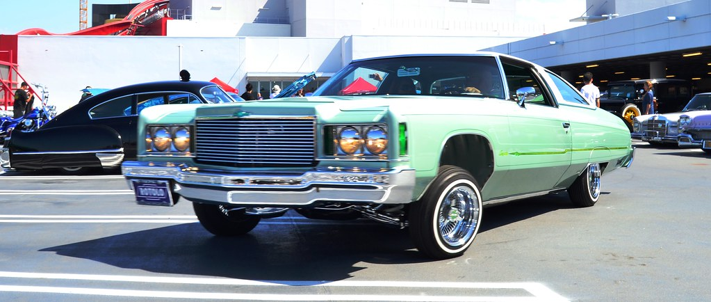 Lowrider Car Show At Breakfast Club Cruise In The Petersen