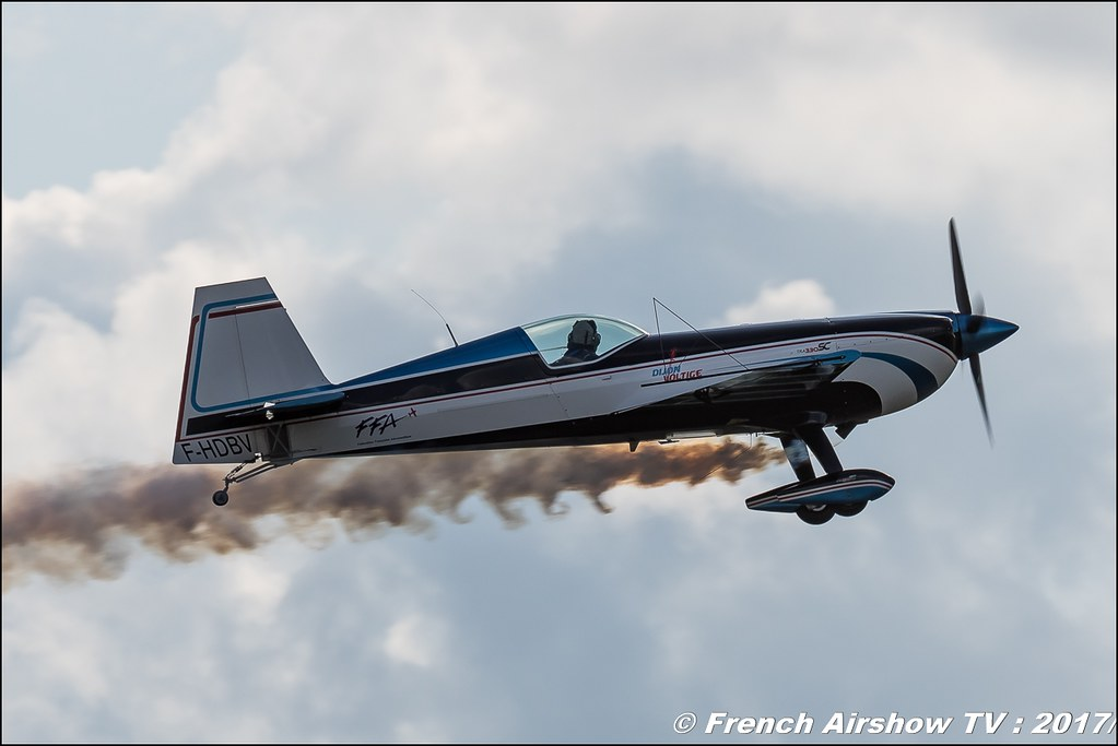 Extra EA-330SC - F-HDBV Dijon Voltige , Meeting aérien contre le cancer , Free Flight World Masters Rodez-Aveyron , FFWM2017 , Meeting Aerien 2017