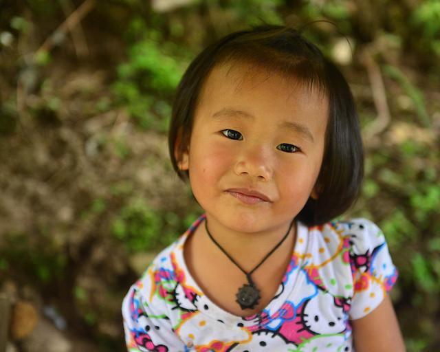 Uno de los muchos niños que viven en Batad