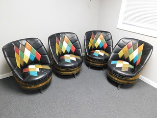 Retro barrel chairs | by thornhill3