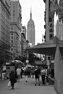 Streets of Manhattan 27 B&W | by C.M. Keiner