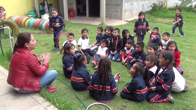 Escuela pone en marcha protocolo de seguridad ante fuertes sismos