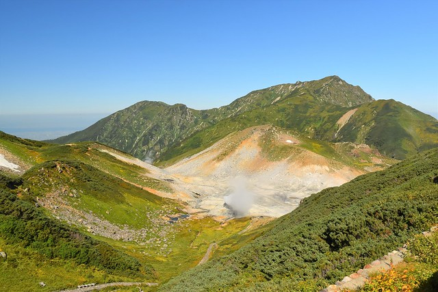 立山・地獄谷と奥大日岳