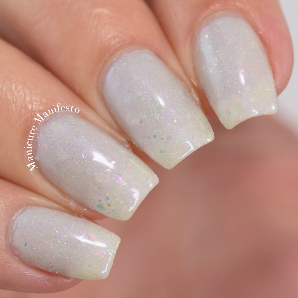 Femme fatale Cosmetics The White Flame swatch