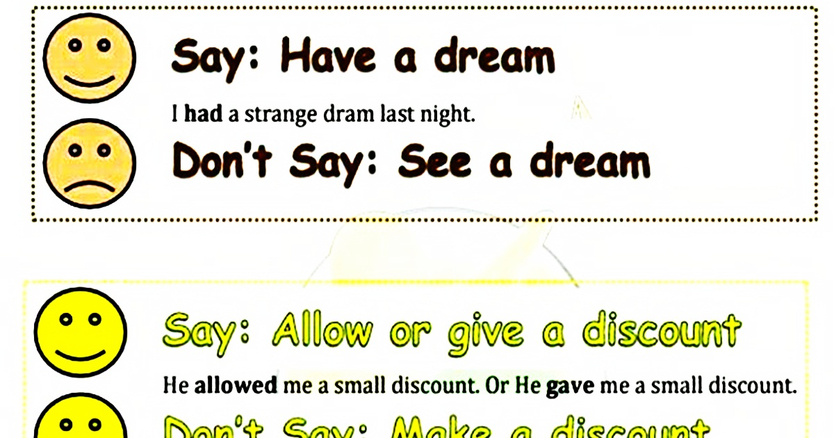 Common Errors in English 5
