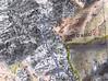 Carte du secteur Traunatu dans le massif de Popolasca avec la trace détaillée de la traversée du ravin de Vetta di Muru au col de la pointe Traunatu 1711