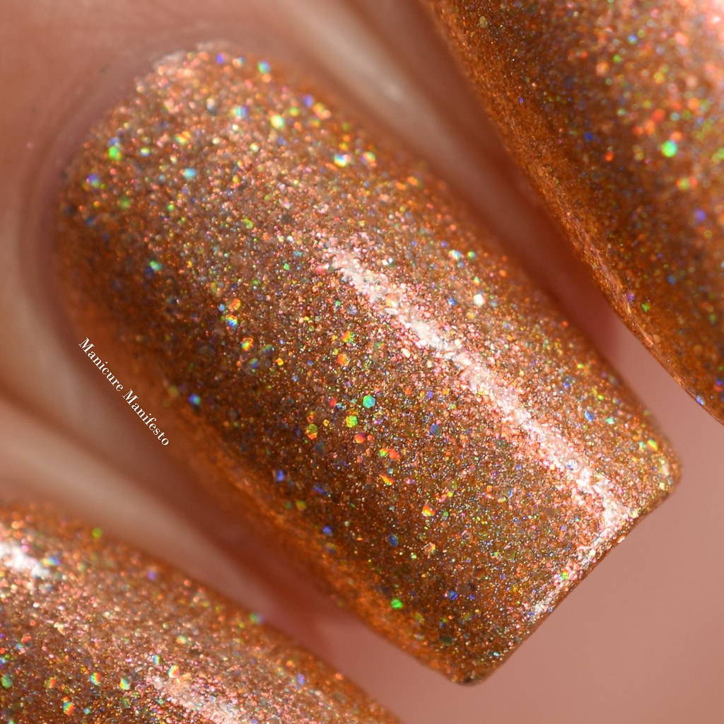 Girly Bits Butterbeer Latte swatch