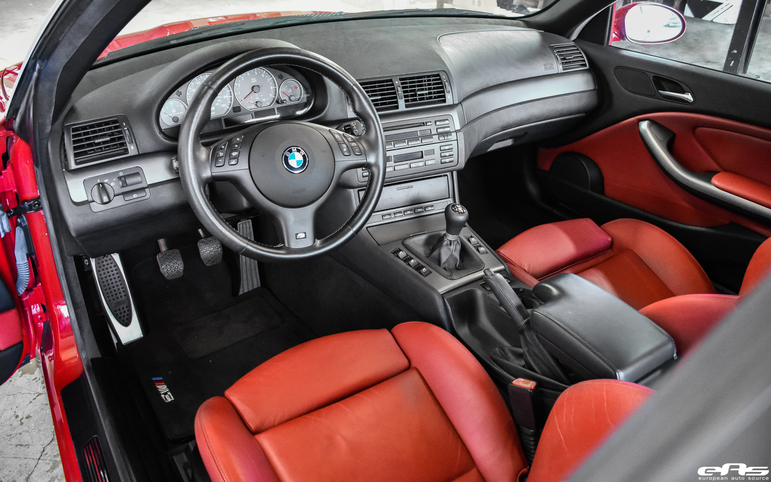Imola Red E46 M3 Convertible Bmw Performance Parts Services