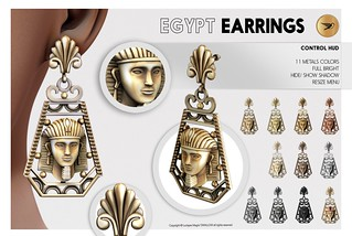 ^^Swallow^^ Egypt Earrings | by ^^ Swallow ^^ Luciayes Magic