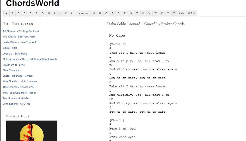 Tasha Cobbs Leonard Gracefully Broken Chords Gracefully Br Flickr