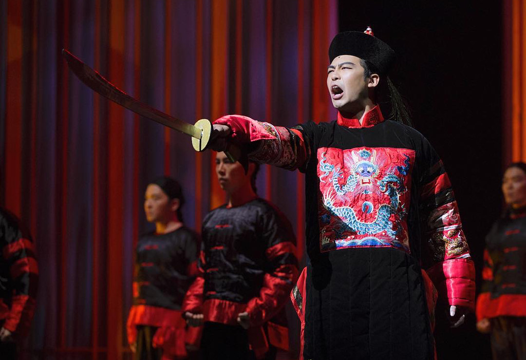 Benjamin Chow as Prince Tun | Photo Credits: Singapore Repertory Theatre